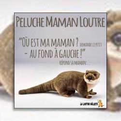 Peluche Maman Loutre