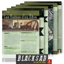 Scénario de 6 pages qui met l'accent sur l'enquête et l'interprétation, sans omettre les scènes d'action.