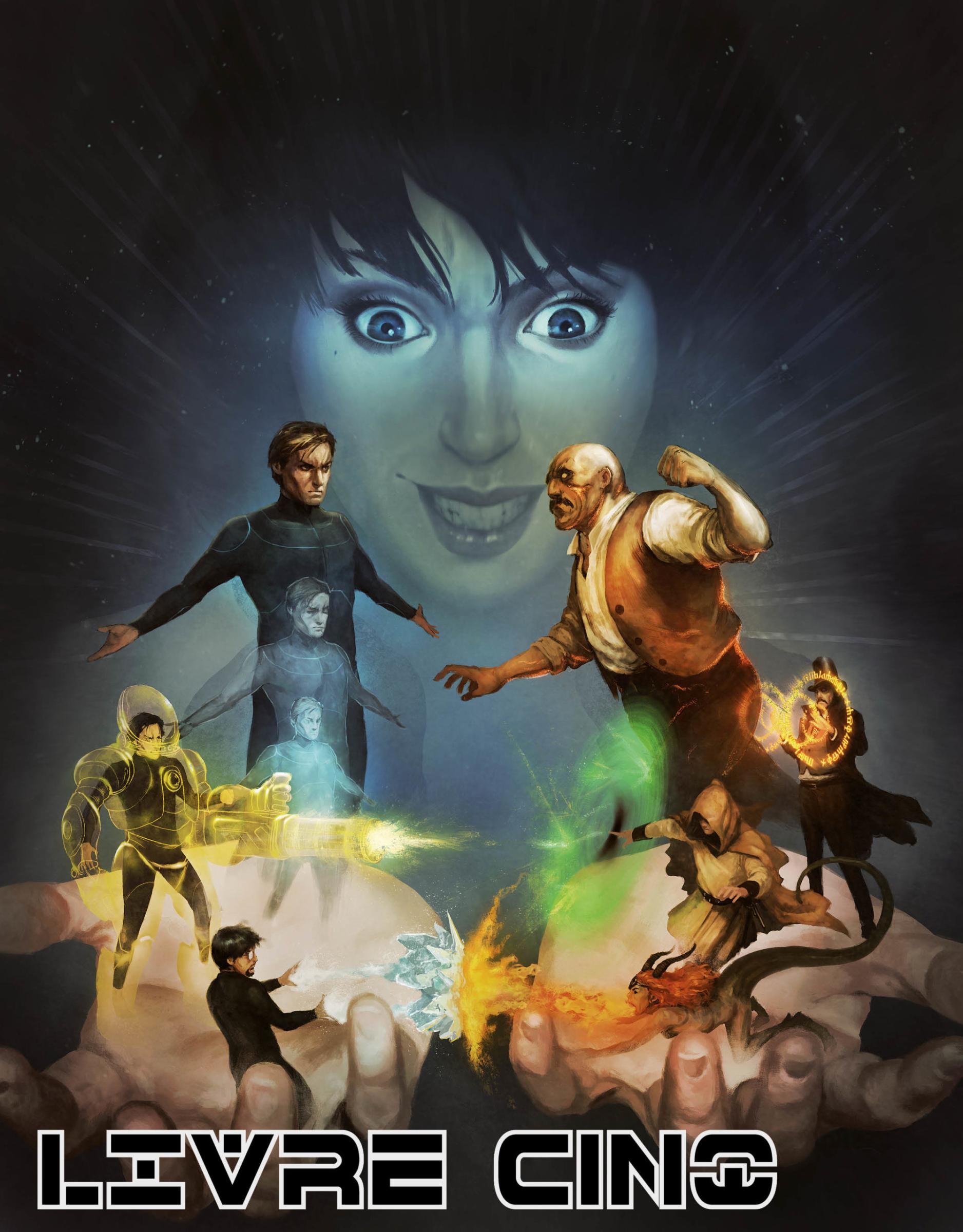 Feuilles de personnages pour Dreamraiders, jeu de rôle onirique publié par La Loutre Rôliste